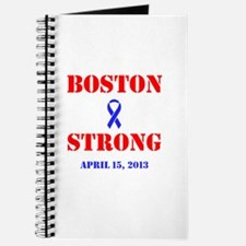 Boston Strong Red and Blue Journal
