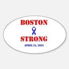 Boston Strong Red and Blue Decal