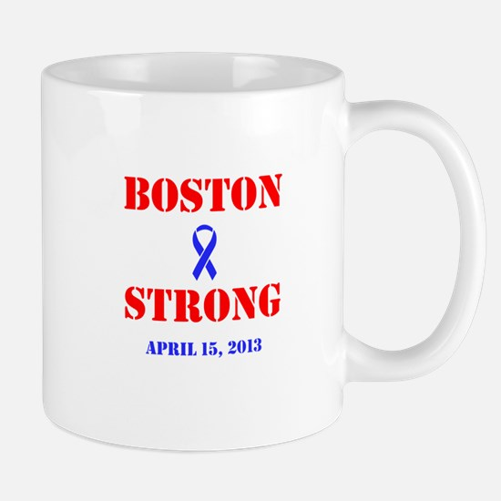Boston Strong Red and Blue Mug