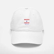 Boston Strong Red and Blue Baseball Baseball Baseball Cap