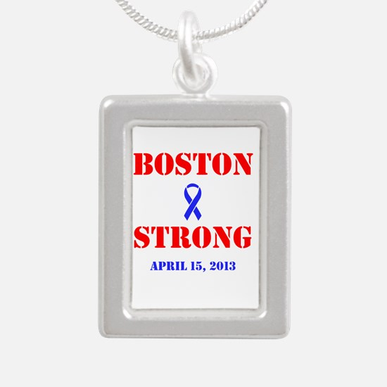 Boston Strong Red and Blue Necklaces