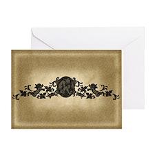 Weeping Cherub Greeting Card