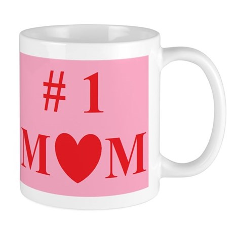 #1 MOM Perfect for Mother's Day Mug