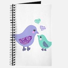 Mama bird and chick Journal