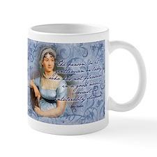 Jane Austen Novel Quote Small Small Mug