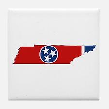 Tennessee Flag Tile Coaster