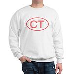 CT Oval - Connecticut Sweatshirt