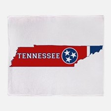 Tennessee Flag Throw Blanket