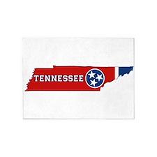 Tennessee Flag 5'x7'Area Rug