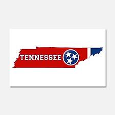 Tennessee Flag Car Magnet 20 x 12