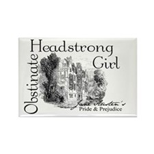 Obstinate Headstrong Girl Rectangle Magnet
