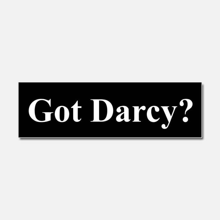 Got Darcy Car Magnet 10 X 3