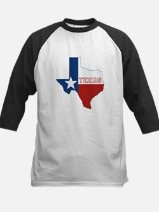 Texas Flag Kids Baseball Jersey