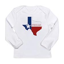 Texas Flag Long Sleeve Infant T-Shirt