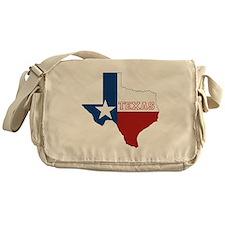 Texas Flag Messenger Bag