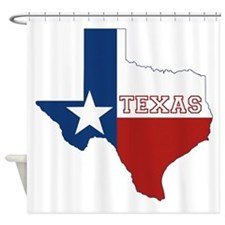 Texas Flag Shower Curtain