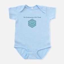 I'd Critically Hit That - Blue Infant Bodysuit