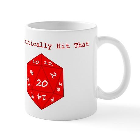 I'd Critically Hit That - Red Mug