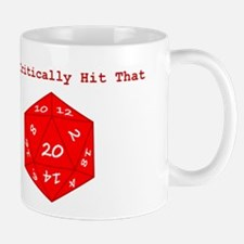 I'd Critically Hit That - Red Mug