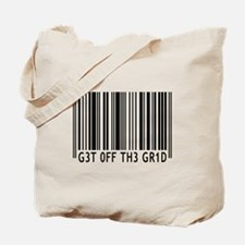 Get off the Grid | Tote Bag