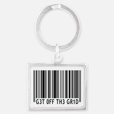 Get off the Grid | Landscape Keychain