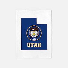 Utah Flag 5'x7'Area Rug