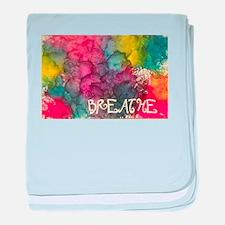 Breathe baby blanket