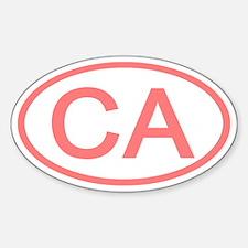 CA Oval - California Oval Decal