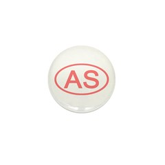 AS Oval - American Samoa Mini Button (10 pack)