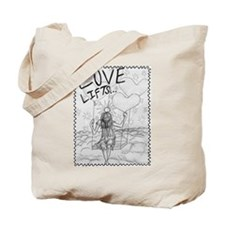 LoveLifts Tote Bag