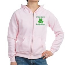 Organ Donor Awareness Zip Hoodie