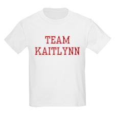 TEAM KAITLYNN  Kids T-Shirt