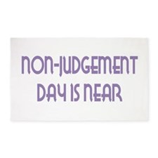 NonJudgement Day is Near 3'x5' Area Rug