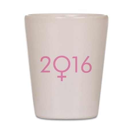 Hillary 2016 Shot Glass