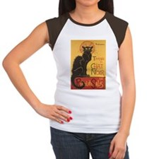 Chat Noir Women's Cap Sleeve T-Shirt