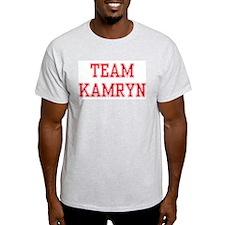 TEAM KAMRYN  Ash Grey T-Shirt