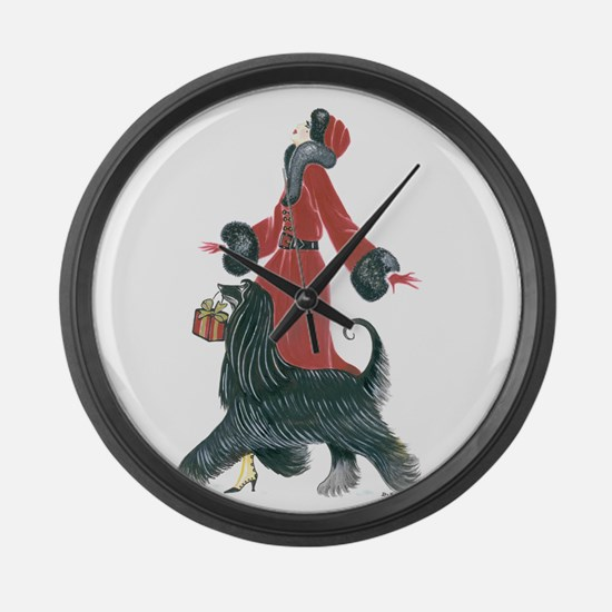 Ruby.png Large Wall Clock