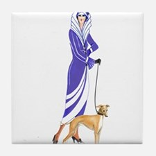 Maude and Sox.png Tile Coaster