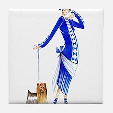 Yvette.png Tile Coaster