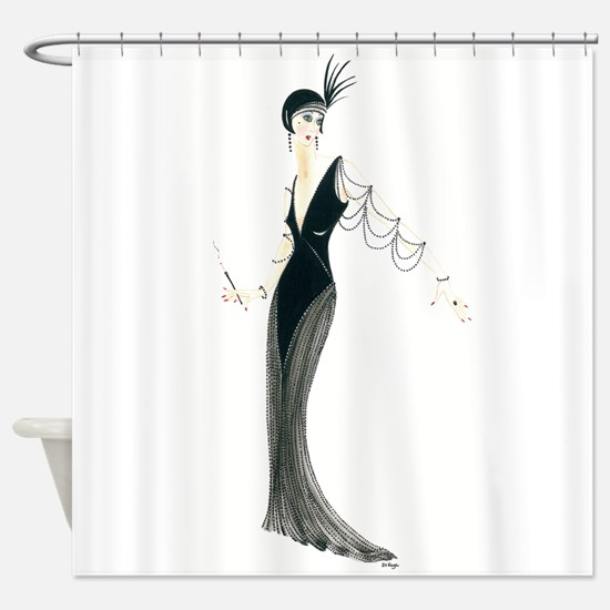 Josephine.png Shower Curtain