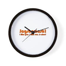 Jagshemash! I like you. Wall Clock