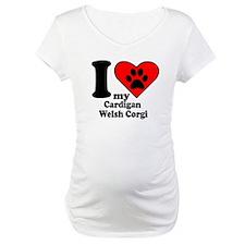 I Heart My Cardigan Welsh Corgi Shirt
