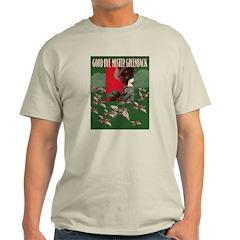 Greenback Dollar Ash Grey T-Shirt