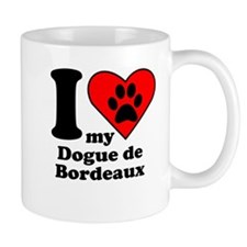I Heart My Dogue de Bordeaux Mug
