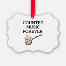 Country Music Forever Ornament