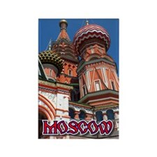 Moscow Rectangle Magnet (10 pack)