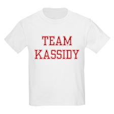 TEAM KASSIDY  Kids T-Shirt