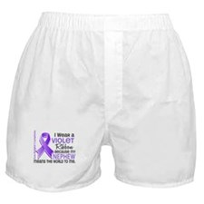 LO Means World H Lymphoma Boxer Shorts