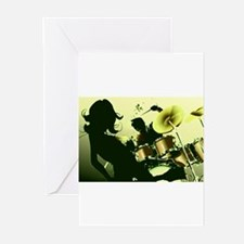 Music 9 Greeting Cards (Pk of 10)
