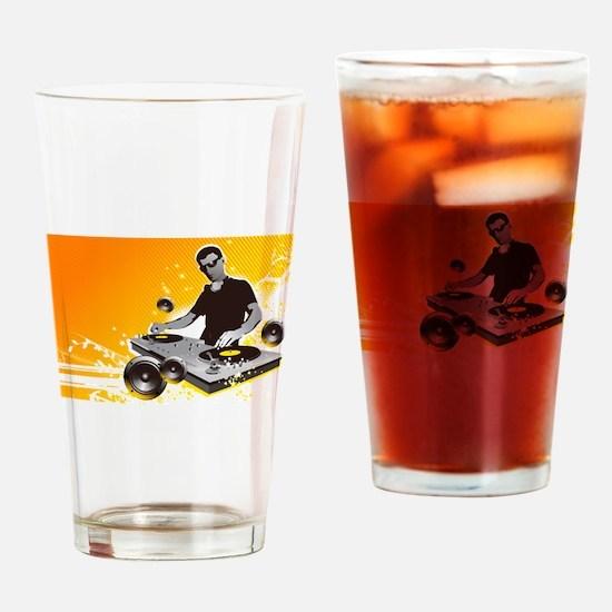 Music 10 Drinking Glass